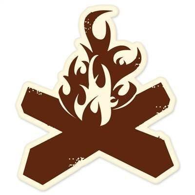 Campfire Bumper Sticker 4
